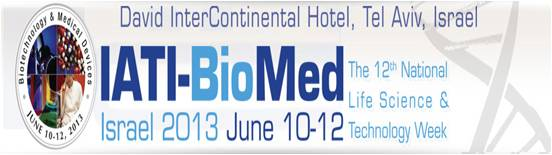 BioMed 2013 - Zvi Teff from Gold Patents met clients there